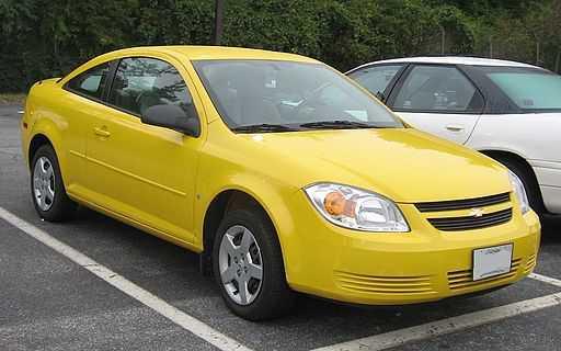 Accensione difettosa su Chevrolet Cobalt e Saturn Ion