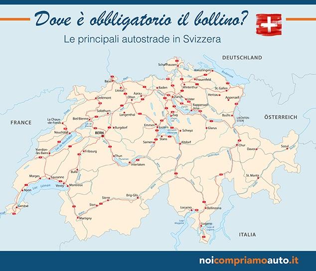 Bollino autostrada Svizzera