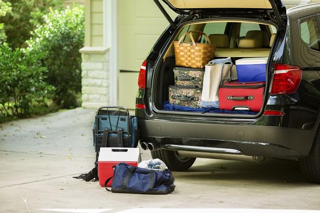 Trasporto oggetti in auto